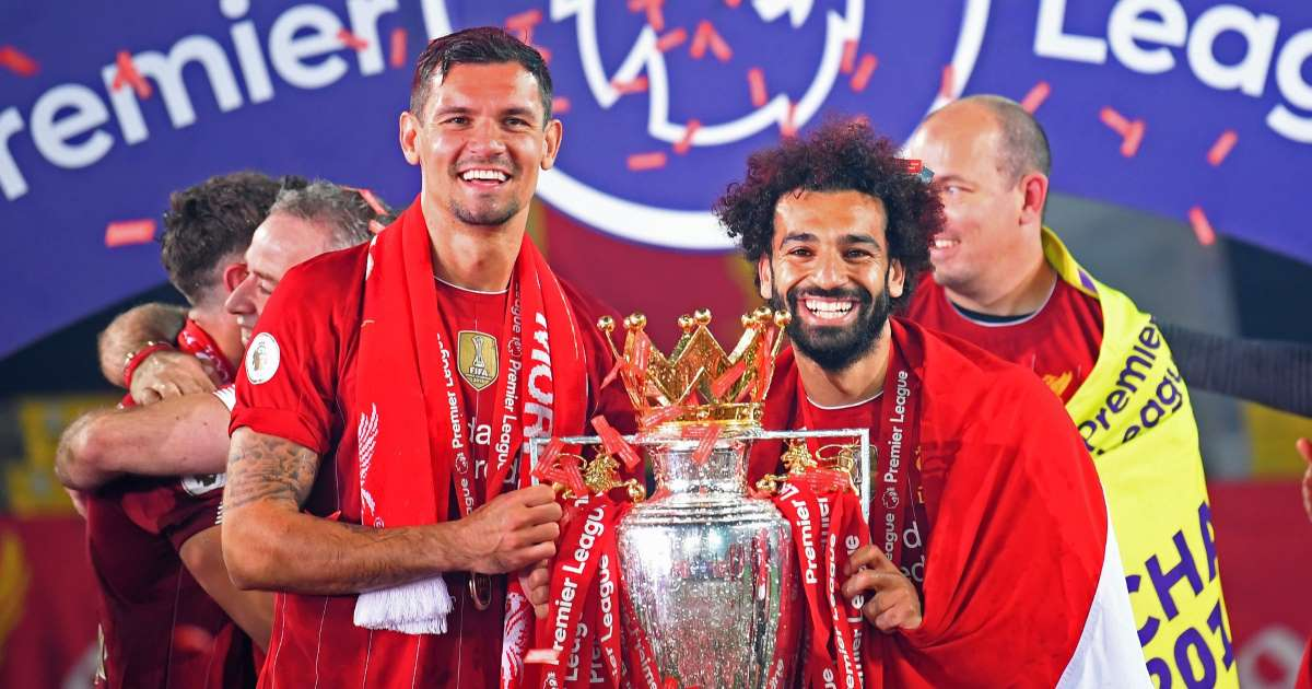 Salah sad to see unbelievable player and great friend Lovren.img