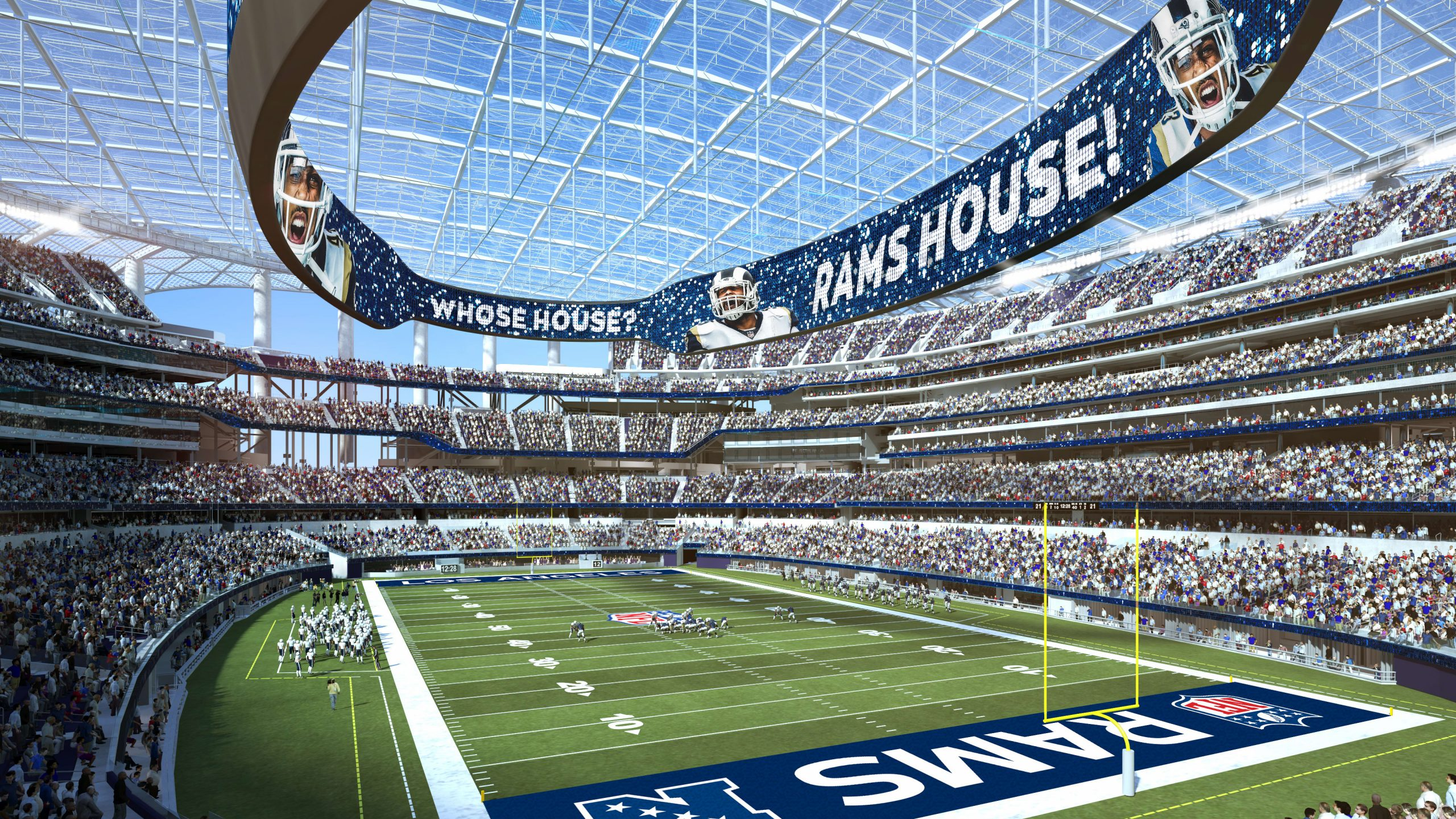 la-rams-ready-for-kickoff-in-new,-$5-billion-high-tech-sofi-stadium-—-without-fans