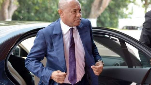 Caf: Ahmad facing Fifa ban after 'breaching code of ethics'