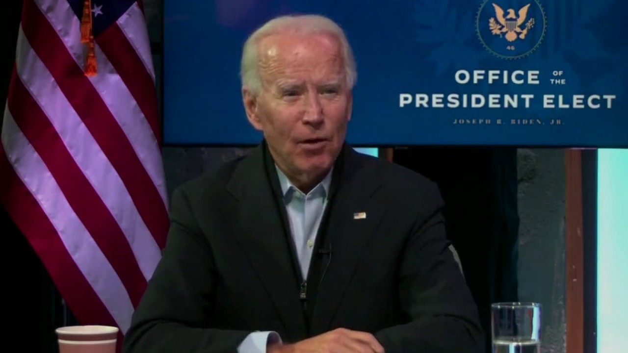 Biden hits Trump for refusing to concede, says 'national mask mandate' discussed with govs