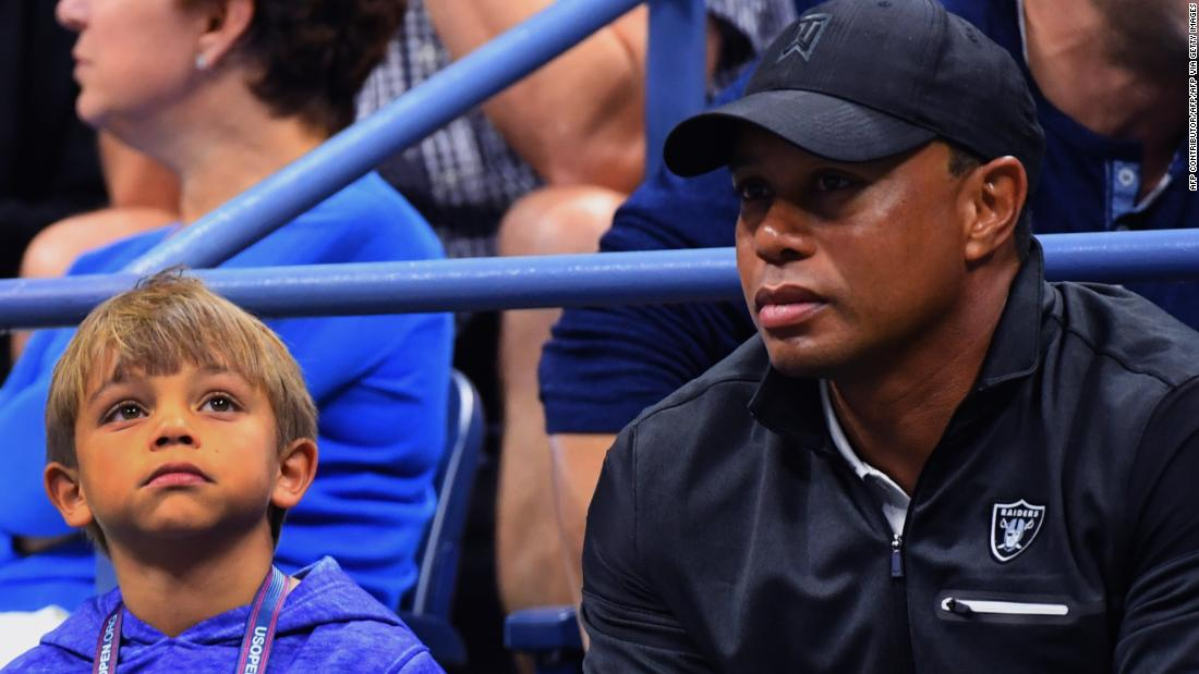 Tiger Woods and son Charlie will team up in the PNC Championship