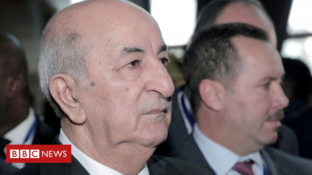 Algerian President Tebboune returns after Covid treatment in Germany
