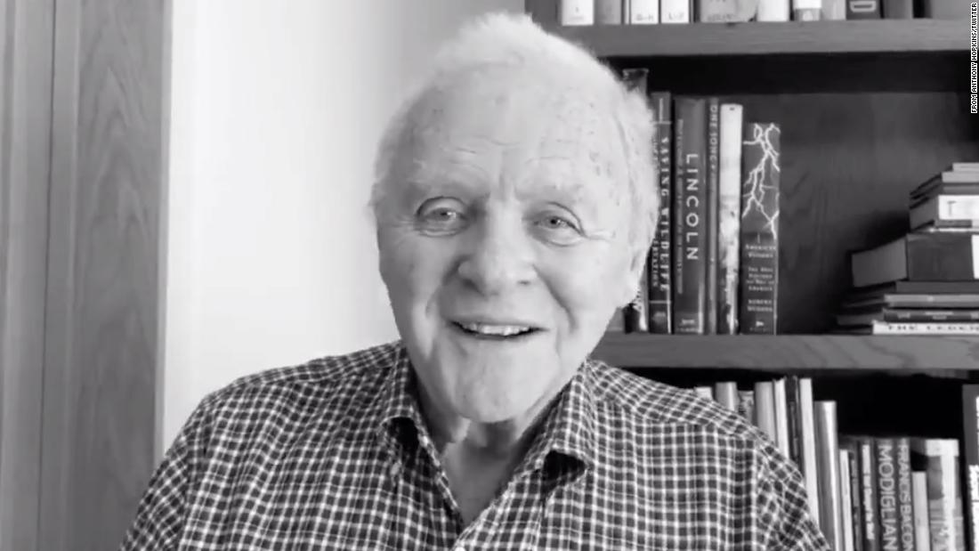 Anthony Hopkins gives thanks for 45 years of sobriety in uplifting Twitter video
