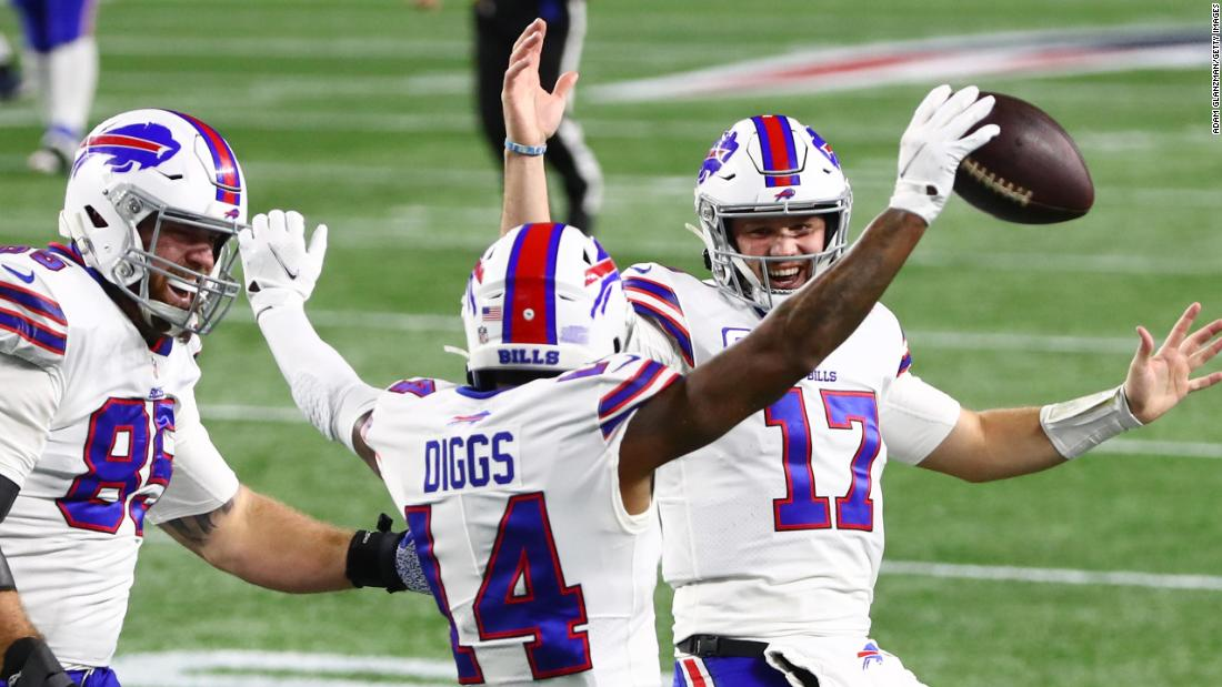 Buffalo Bills thrash New England Patriots to sweep Bill Belichick's team for first time since 1999
