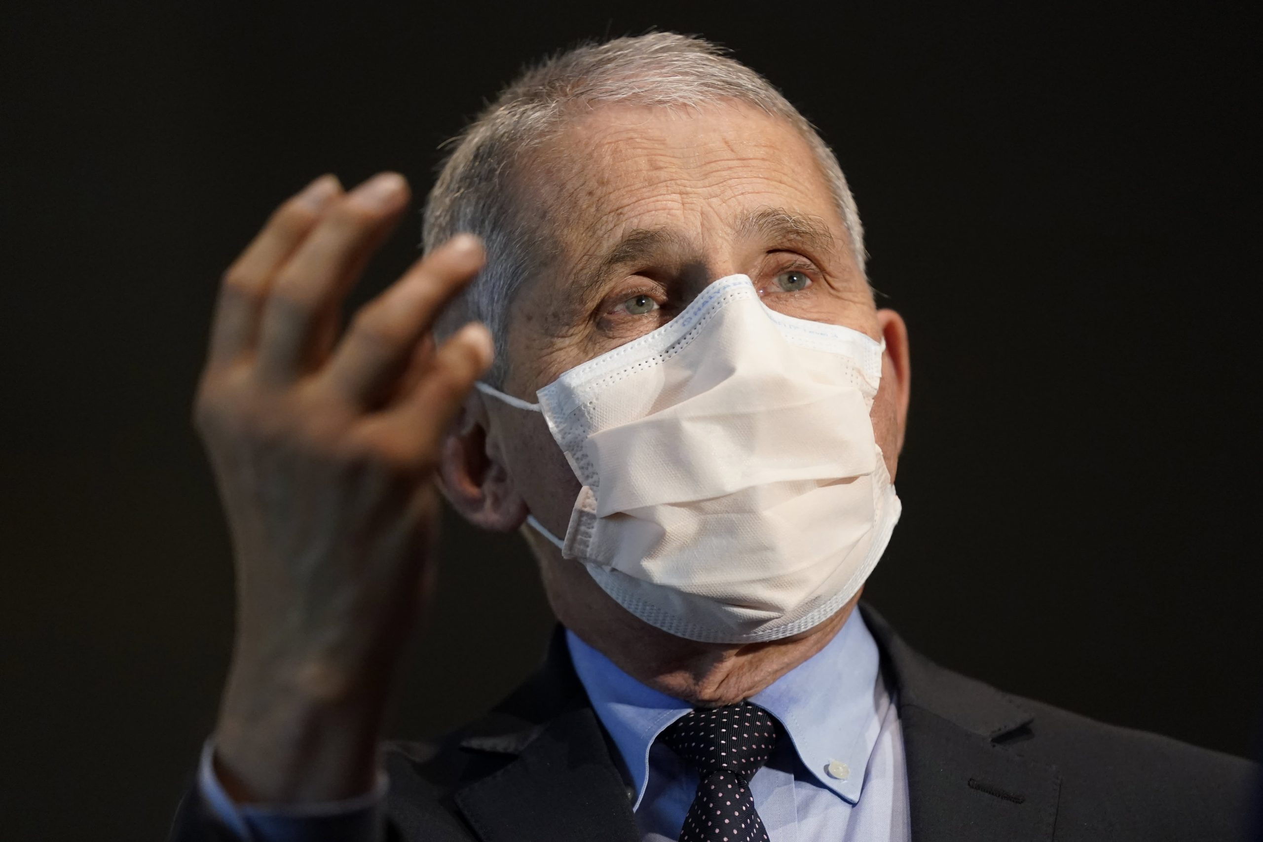 Fauci warns of post-Christmas surge in Covid infections