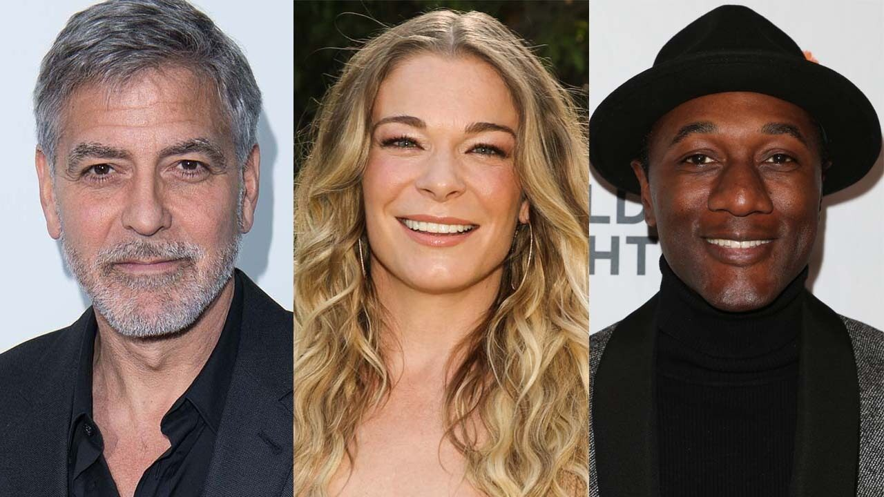 George Clooney, LeAnn Rimes, Aloe Blacc and more stars reflect on 2020: 'So much trauma'
