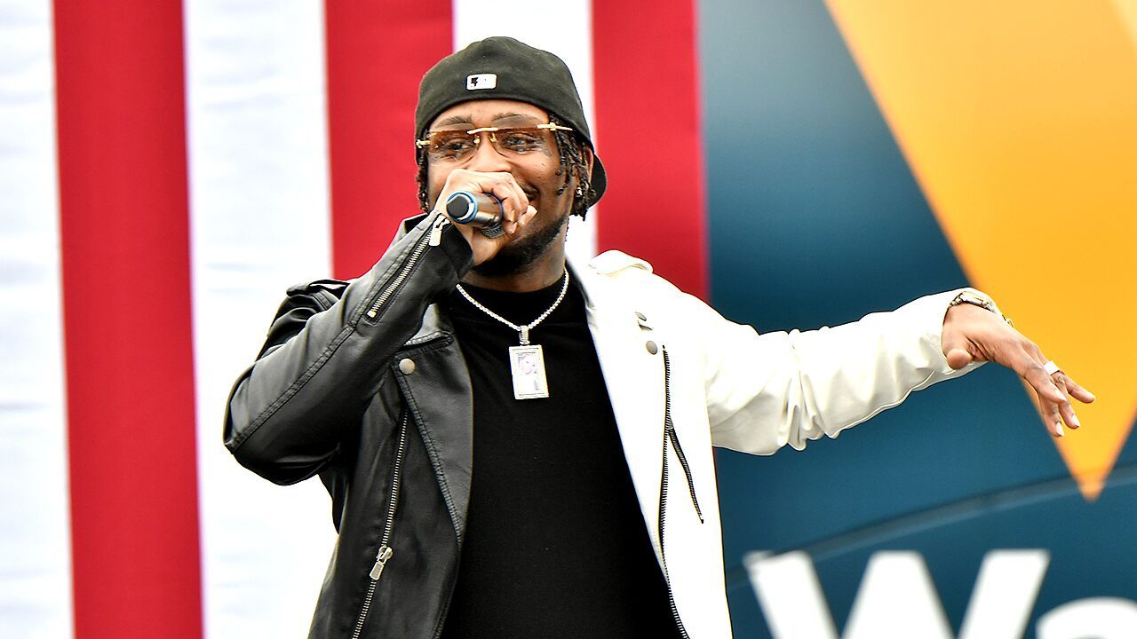 Hip-hop artist who headlined Ossoff, Warnock event stirs controversy after screengrab emerges: report