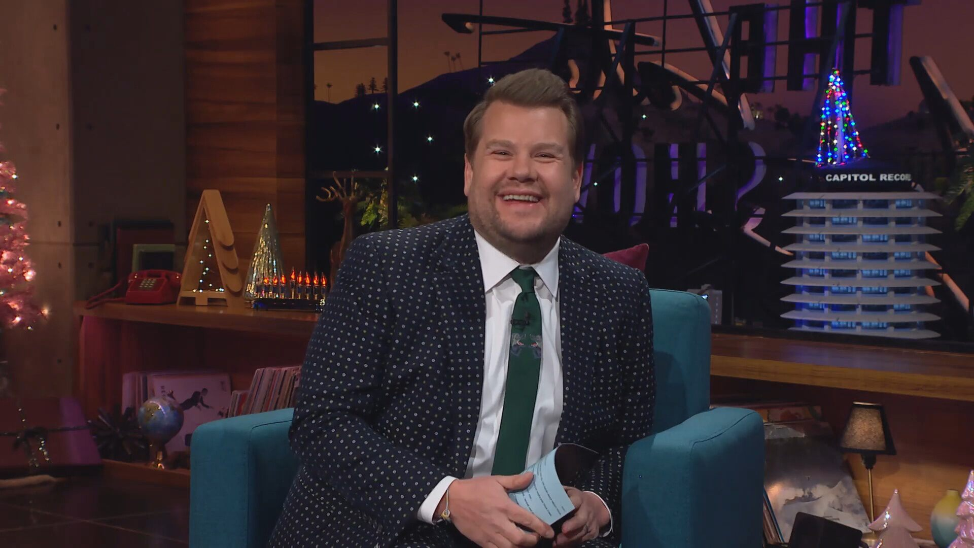 James Corden teases he may leave 'Late Late Show' and move back to UK