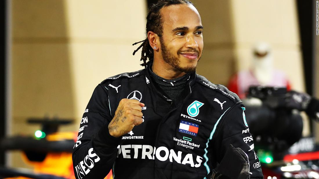 Lewis Hamilton knighted in UK's New Year Honours List