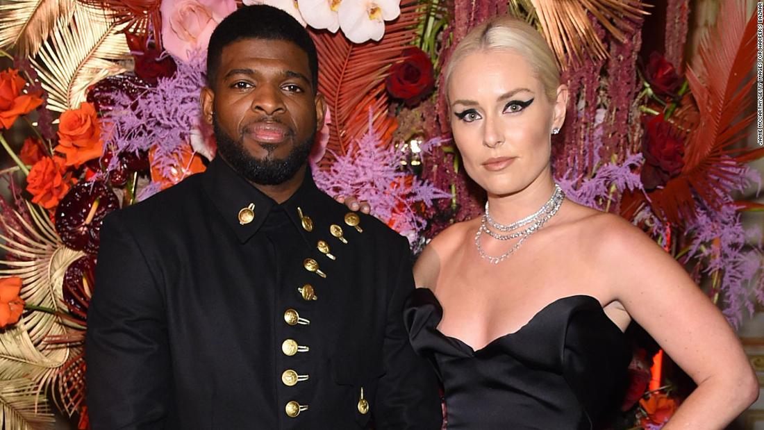 Lindsey Vonn and NHL star P.K. Subban announce breakup following last year's engagement