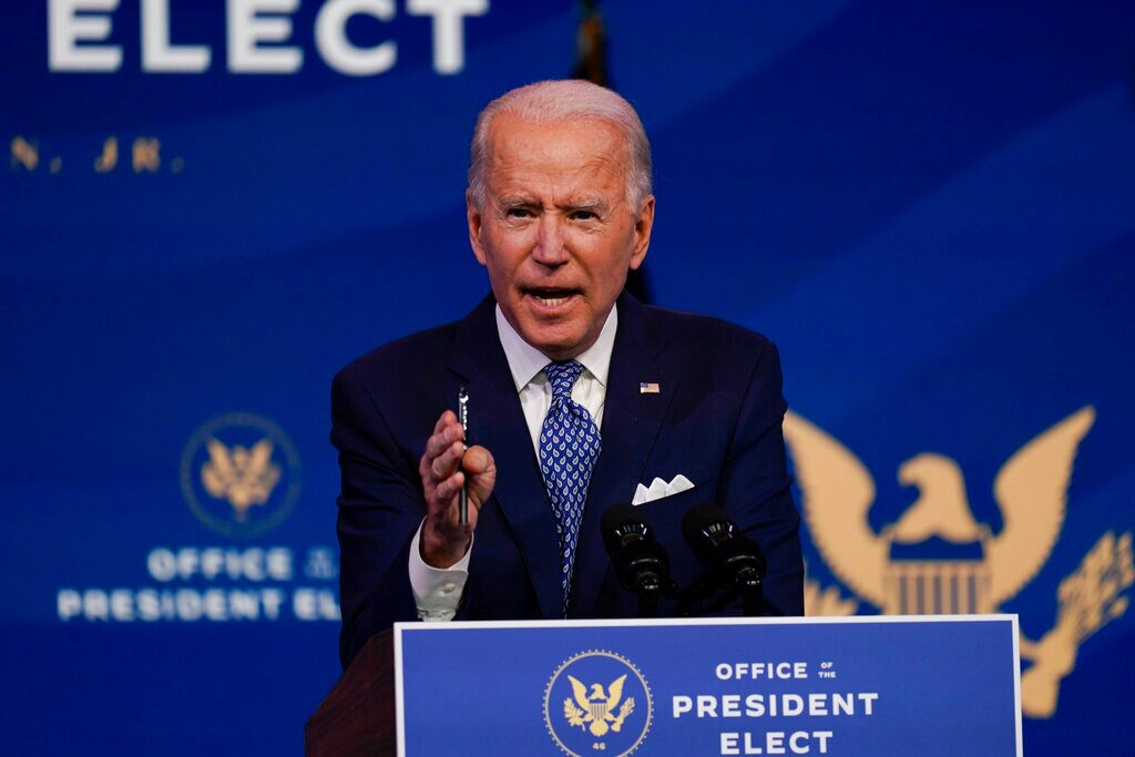 Live Updates: Biden's transition team disabled chat function for reporters on conference Zoom calls