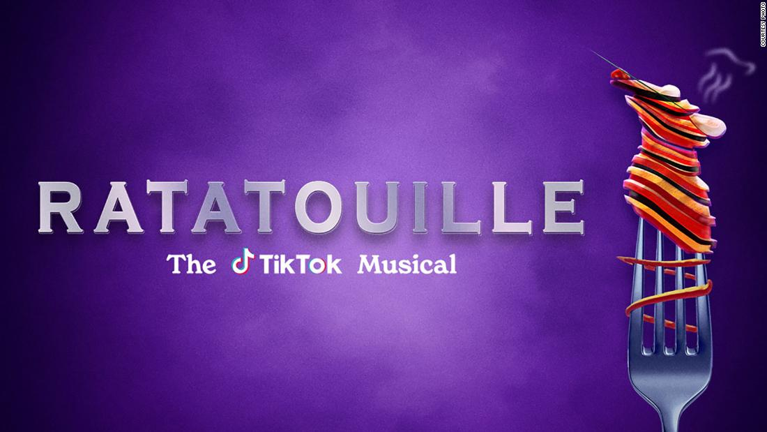 'Ratatouille: The TikTok Musical' aims to cook up first-of-its kind fun