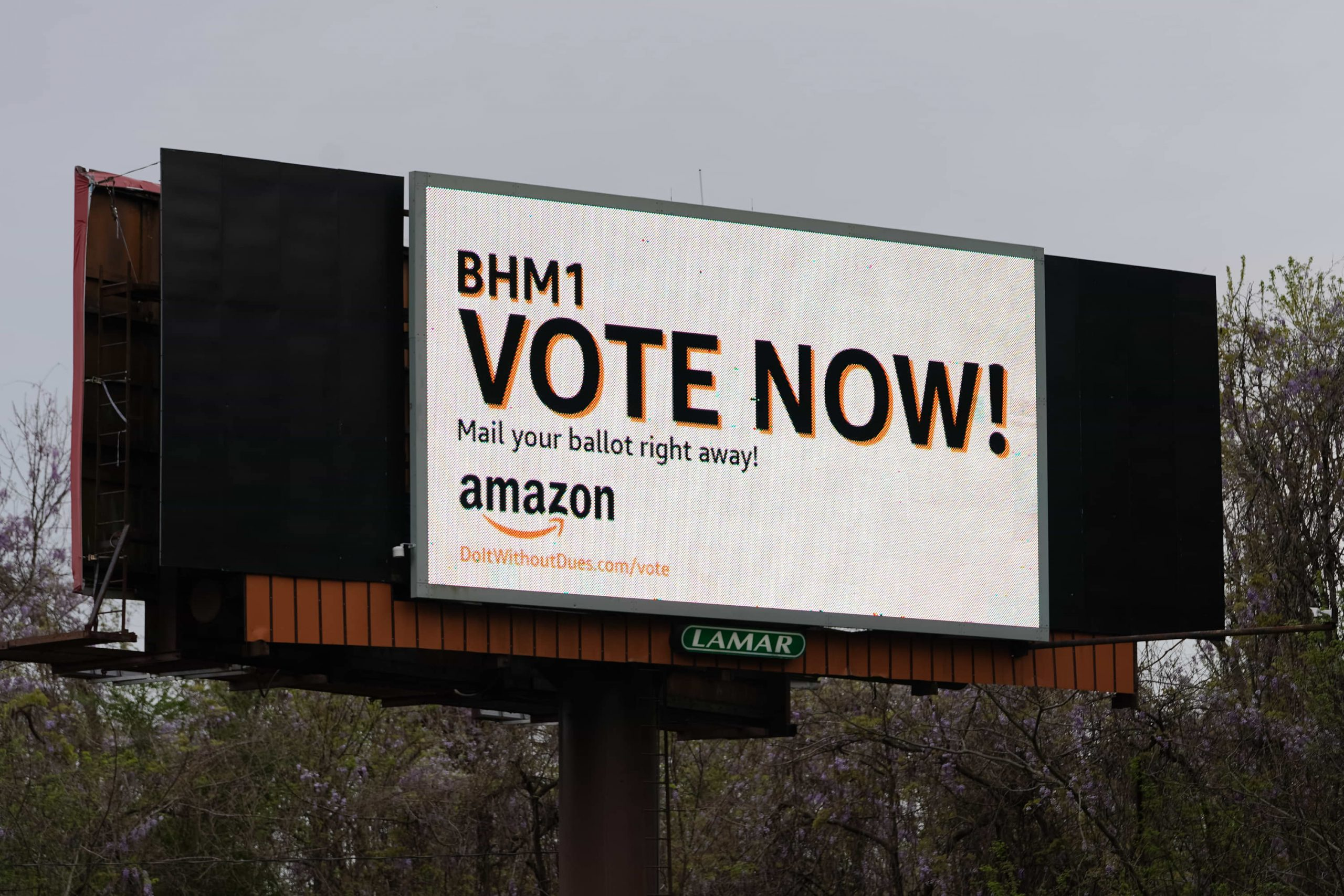 Amazon's PR campaign ahead of union vote shows how worried it is