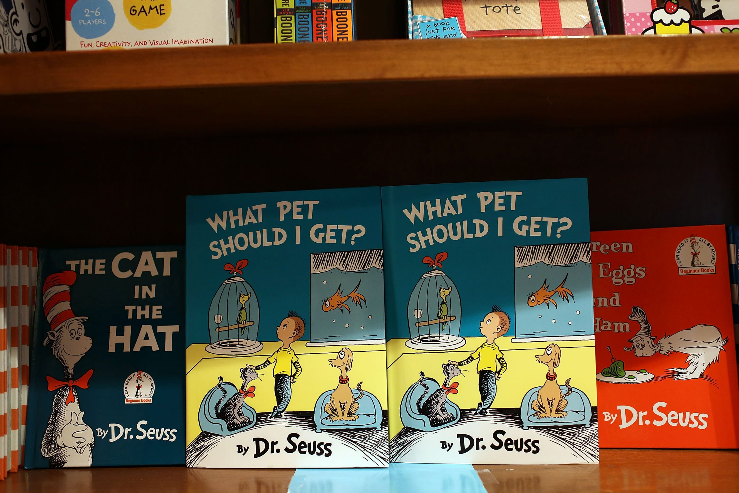 Dr. Seuss books shoot to the top of Amazon's bestseller list