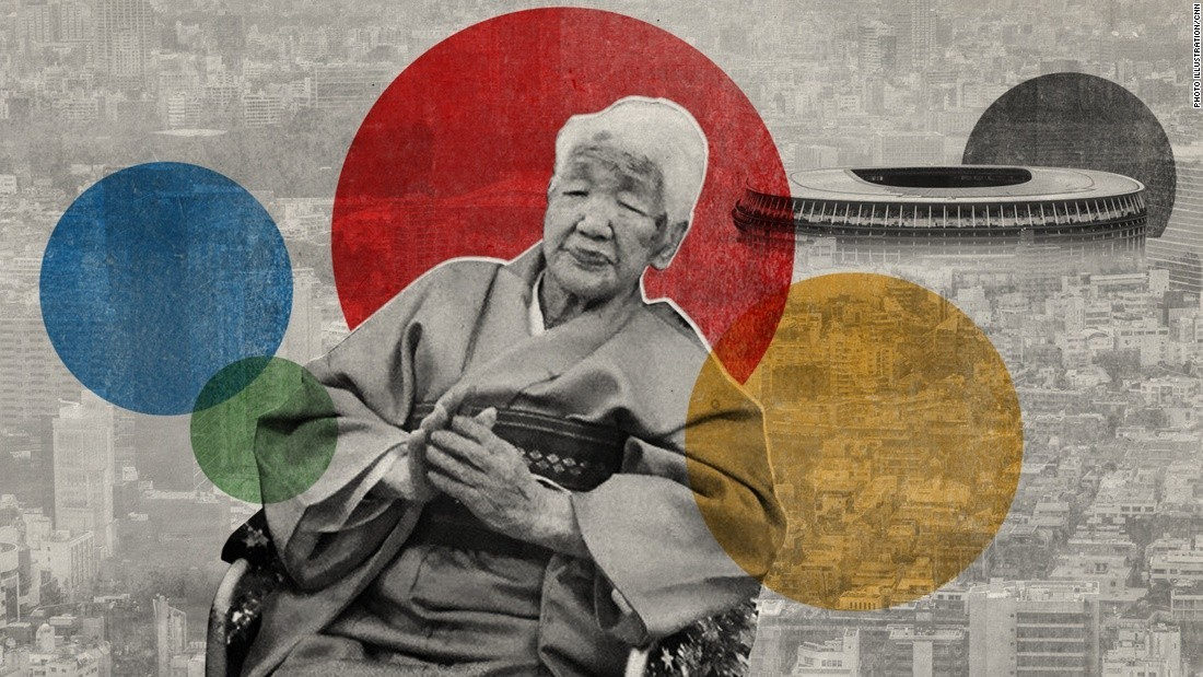 Japan's Kane Tanaka, the world's oldest living person, will carry Tokyo 2020 Olympic flame