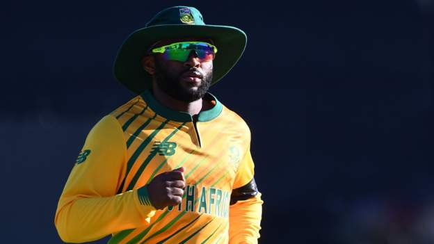 South Africa appoint Temba Bavuma as first black African captain to lead limited-overs sides as Dean Elgar named Test skipper