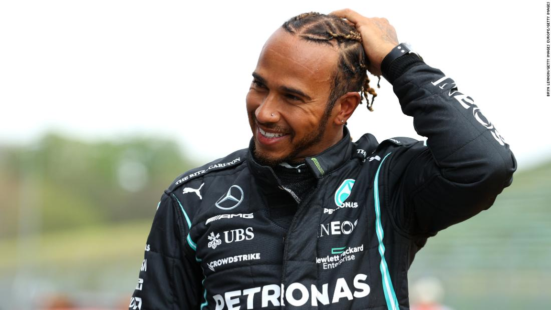 Imola GP: Lewis Hamilton sees off the Red Bulls to seize his 99th pole
