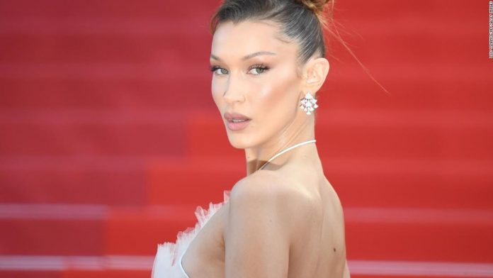 Bella Hadid joined pro-Palestinian protests