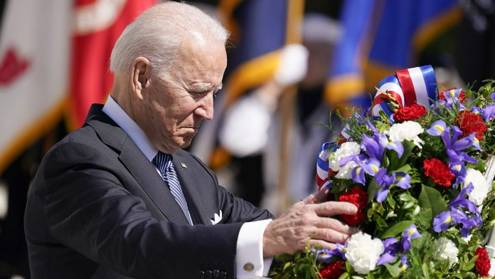 Biden on Memorial Day asks Americans to remember 'sacrifice,' 'valor' and 'humanity' of fallen service members
