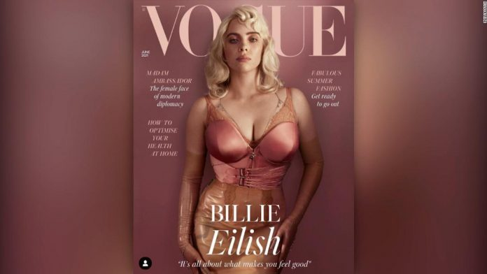 Billie Eilish talks about the reaction to that Vogue cover