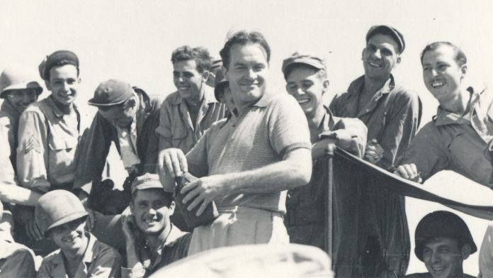 Bob Hope's letters to American troops during WWII chronicled in book: It 'affected his entire life'
