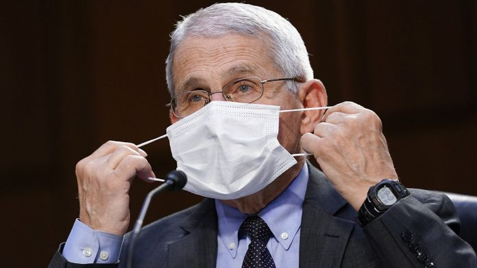 Fauci defends CDC's roundabout on mask mandates amid confusion from new guidance