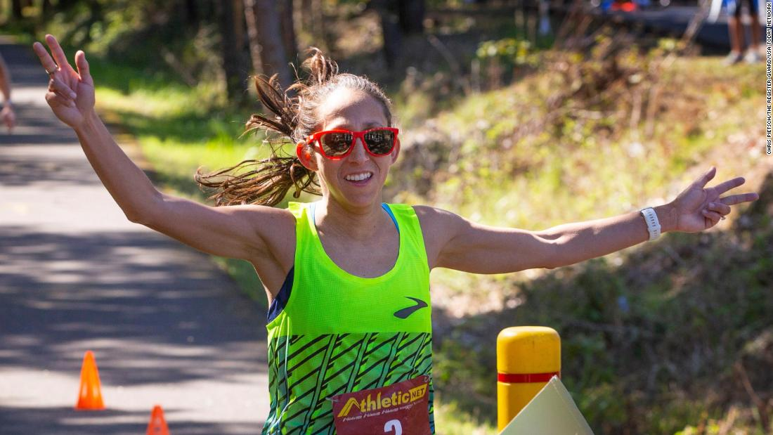 How marathon runner Des Linden ventured into the 'unknown' and broke the 50km record