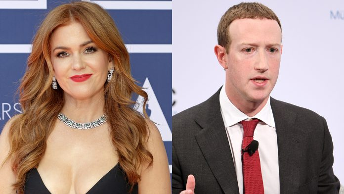 Isla Fisher slams Facebook CEO Mark Zuckerberg for hosting 'lies that cost lives'