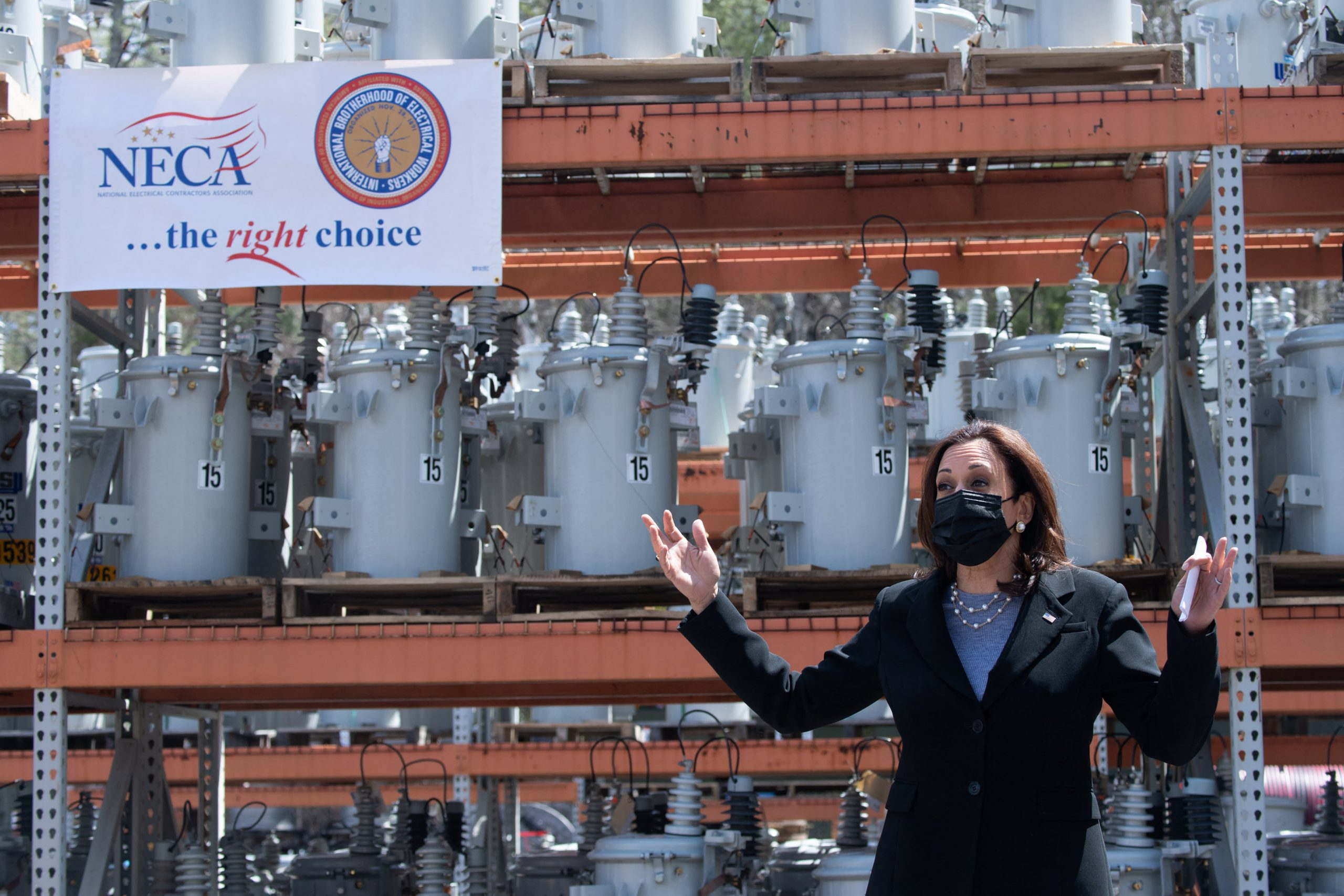 Kamala Harris leads small business outreach in White House recovery plan push