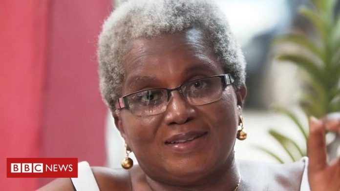 Letter from Africa: The woman bucking the trend in Ghana to embrace her grey hair