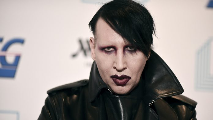 Marilyn Manson wanted on active arrest warrant in New Hampshire: police