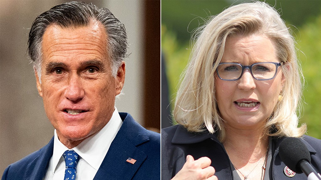 Mitt Romney goes to bat for Liz Cheney amid threats to remove her from GOP leadership