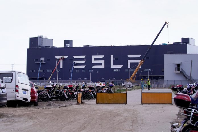 Tesla's China sales tumble 27% in April from March