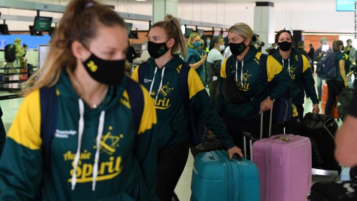 Tokyo Olympics: Australian softball squad among first athletes to travel to Japan for Games