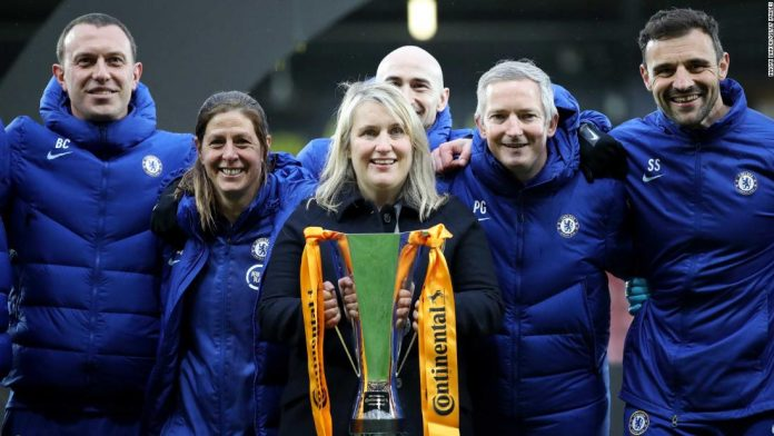 Women's Champions League: Chelsea boss Emma Hayes says inspiring next generation is as important as trophy