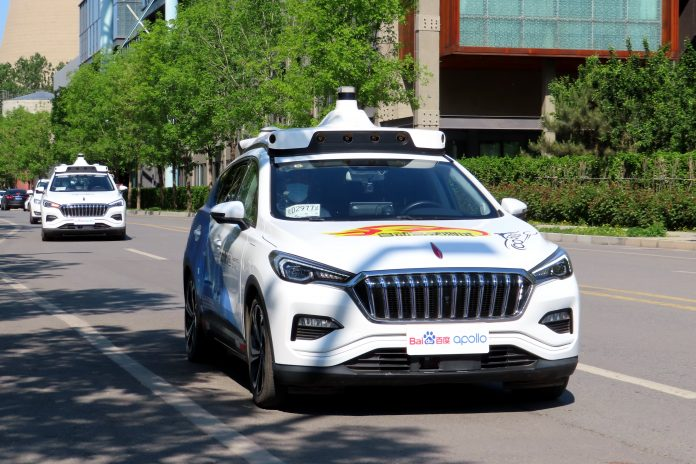 Baidu pushes to put driverless taxis on China roads with BAIC tie-up