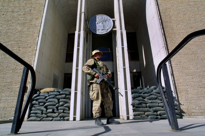 Covid outbreak forces lockdown at U.S. Embassy in Kabul