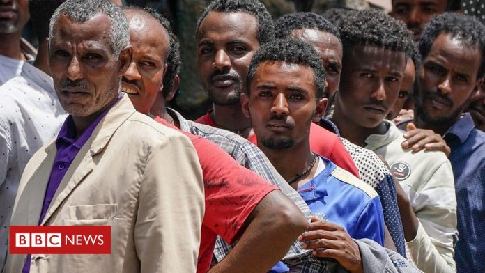 Ethiopia Election 2021: Voters cast ballots in a twice delayed election