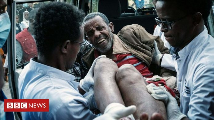 Ethiopia's Tigray crisis: What happened the day a bomb hit a market
