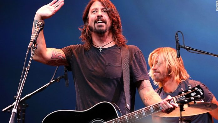 Foo Fighters tour at Madison Square Garden to kick off the iconic venue's reopening.