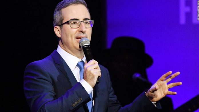 John Oliver trashes the Cheerios Twitter account