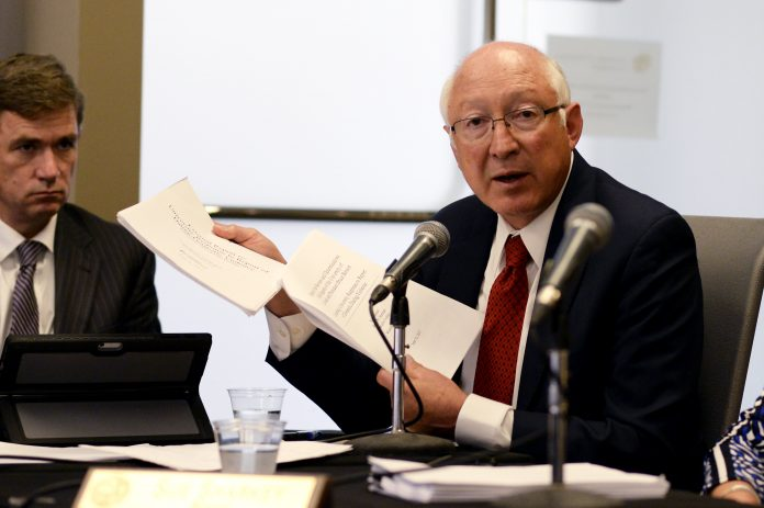 Ken Salazar to Mexico and Tom Nides to Israel