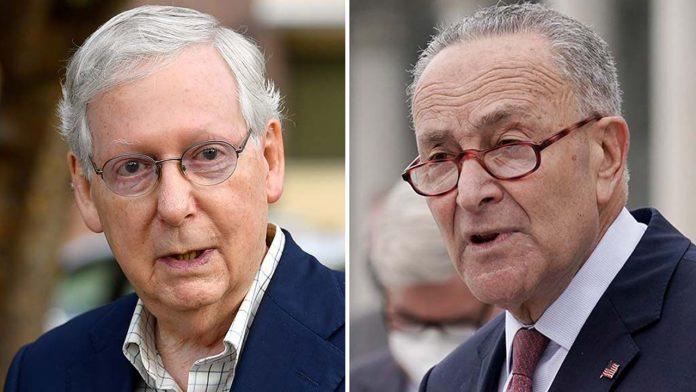 McConnell slams 'radical,' 'waste of time' Dem agenda as Schumer attacks GOP for 'obstruction and gridlock'