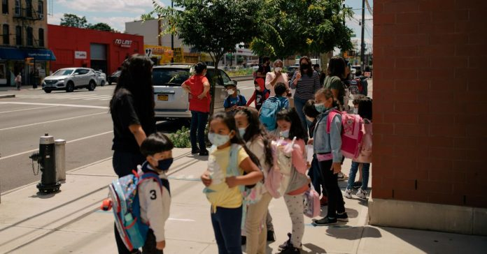 New York City's school year ends on a full day for most students