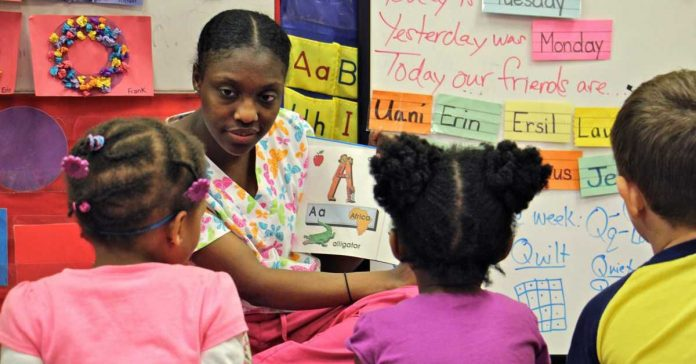 Pennsylvania ended awards for child care workers with higher degrees