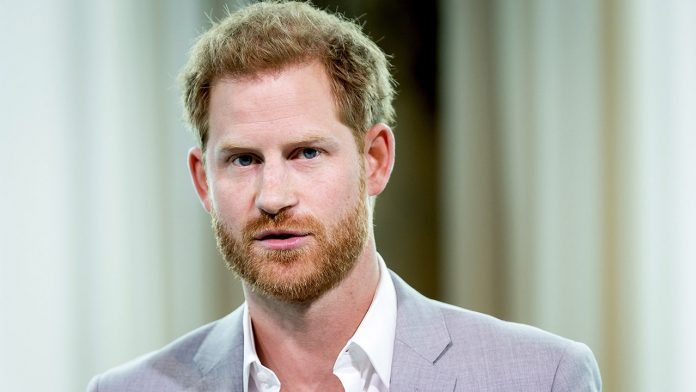 Prince Harry seemingly chokes while discussing Princess Diana in new video