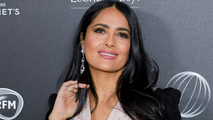 Salma Hayek says dyslexia left her 'confused' while learning 'Hitman's Wife's Bodyguard' movie title