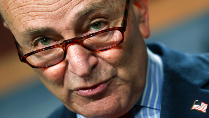 Schumer bombs with stale joke at NYC comedy club reopening