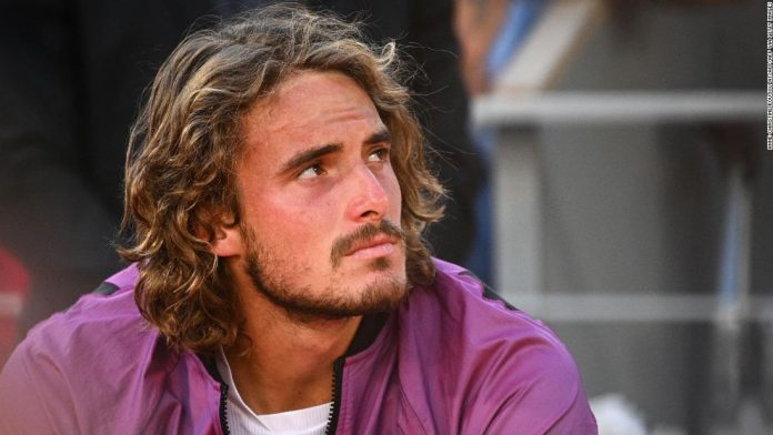 Stefanos Tsitsipas says his grandmother passed away five minutes before French Open final