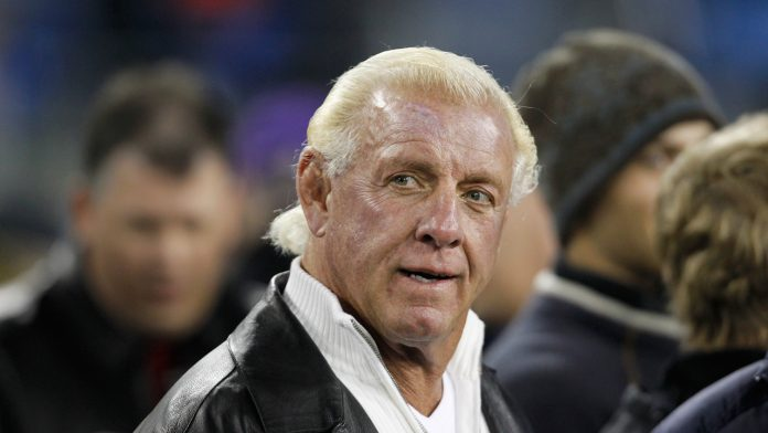 WWE legend Ric Flair hunting down famous butterfly robe